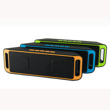 New Bluetooth 4.0 Portable Wireless Speaker TF USB FM Radio Dual Bluetooth Speaker Bass Sound Subwoofer Speakers(China)