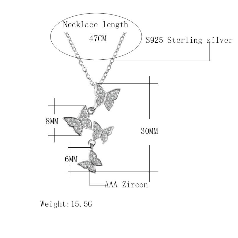 XIYANIKE-New-products-925-Sterling-Silver-Butterfly-Simple-Trendy-Fashion-For-Girl-Birthday-Gift-Creativity-promotions (1)