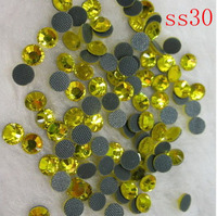 ss30 (4.6 4.8mm) Crystal Hot fix stone 40gross=5760pcs/bag, glass DMC hot fix stone for motif decoration supples