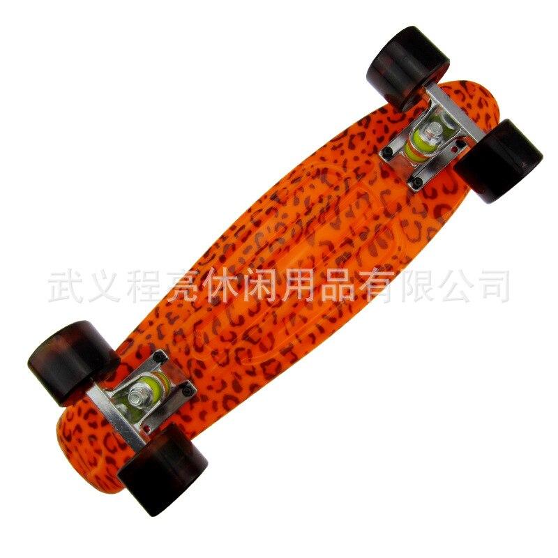 Nouveau 2019 peny planche imprimé mini planche à roulettes pont skate scooter planche à roulettes longboard camion skate freeline patins CL98 - 3