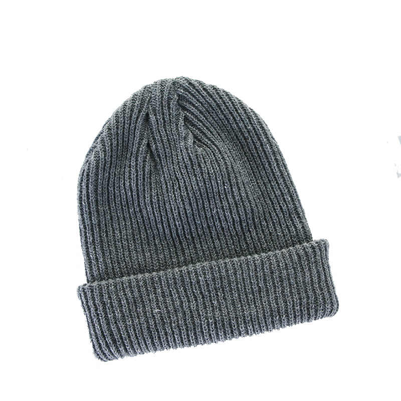 ae4e46cde0f ... Candy Color Winter Hats for Women Knitted Cotton Men Beanie Casual Cap  Warm Hats Bonnet Girl