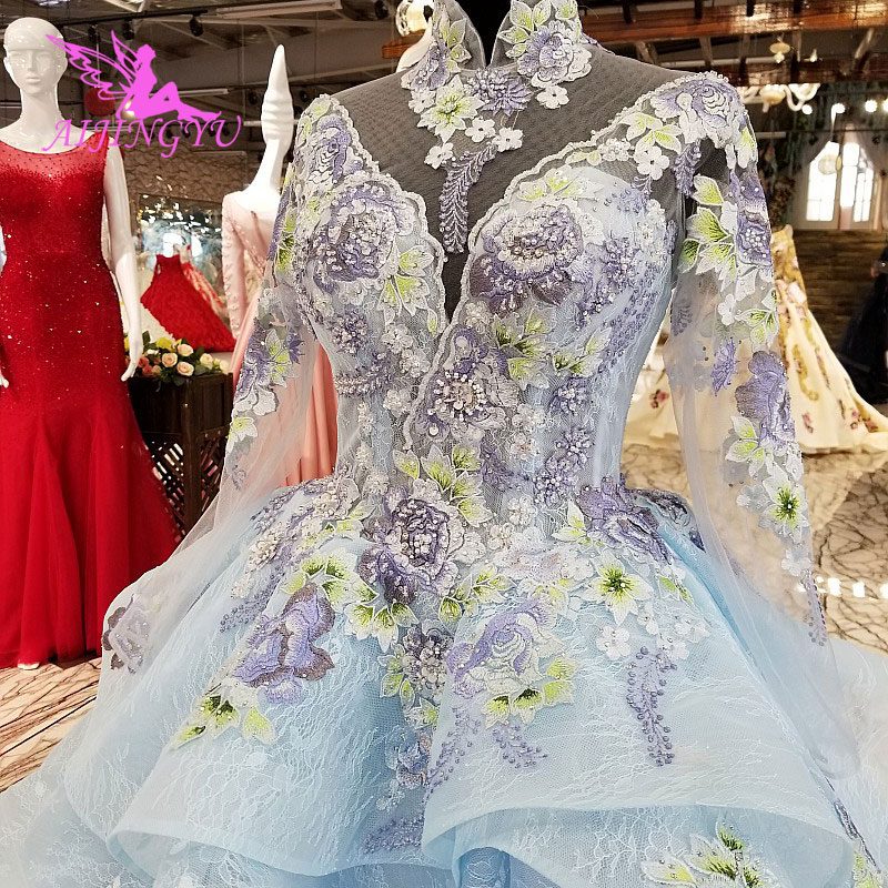 Preowned Wedding Gown: AIJINGYU Medieval Wedding Dress Luxury Princess Preowned