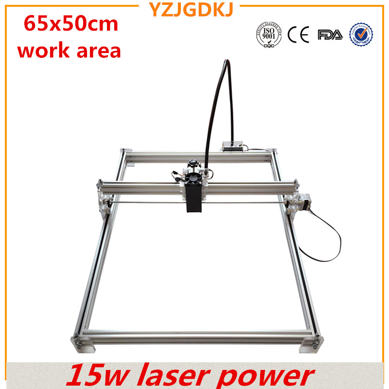 15w high-power laser engraving machine working size 65x50cm full set of laser engraving machine engraving machine for sale hot sale cheap home jewelry laser engraving machine
