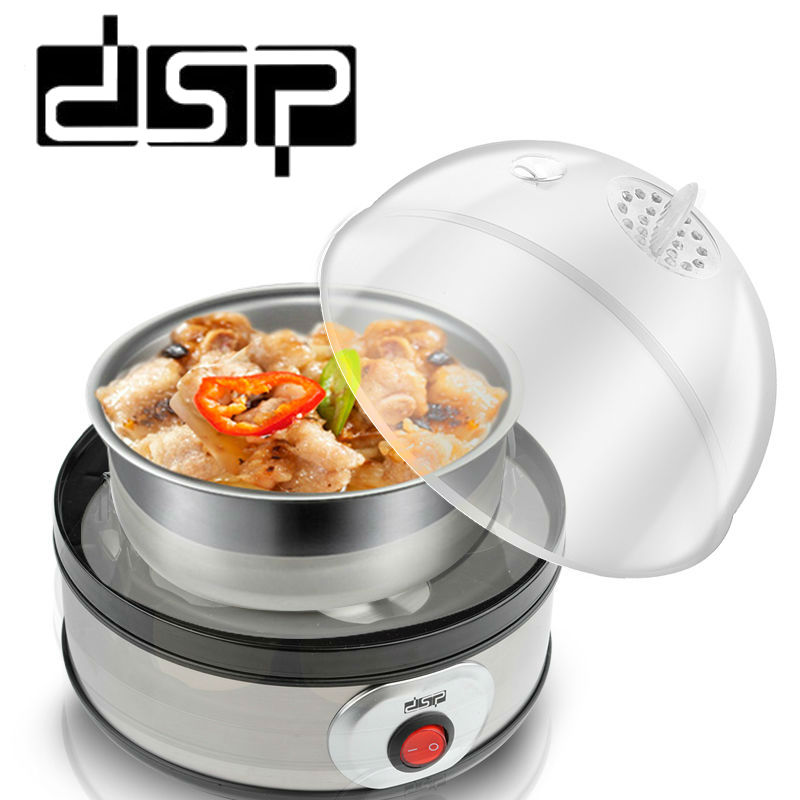 DSP Egg boiled easy to operate steamer single-layer multi-function stainless steel breakfast machine 7eggs hard boiled