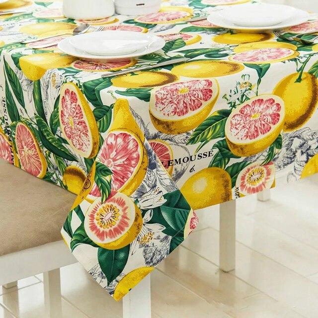 summer tablecloths