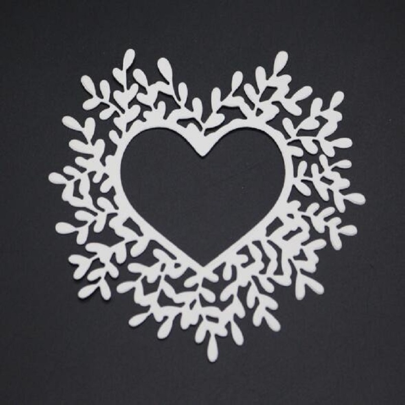 FeLicearts heart frame metal cutting dies for scrapbooking albulm photo decorative card making valentine craft cutting dies in Cutting Dies from Home Garden