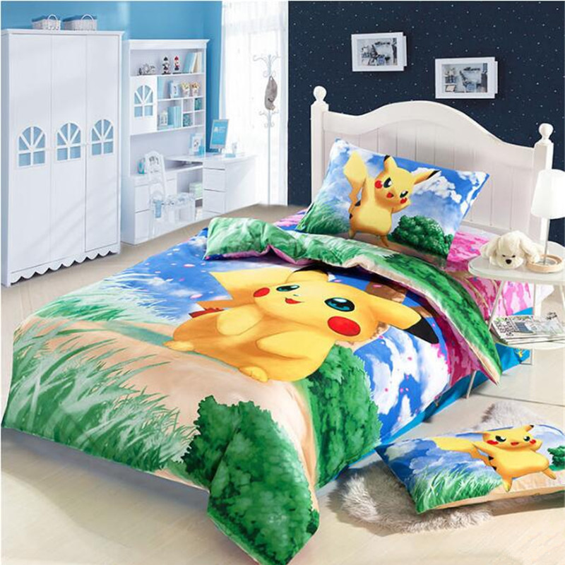 Online Buy Wholesale pokemon bedding set from China