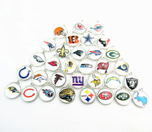 2017 Fashion Jewelry Silver Alloy USA Football Team Dallas Cowboys Pendant Fit Bracelet Necklaces DIY Dangle Charms(China)