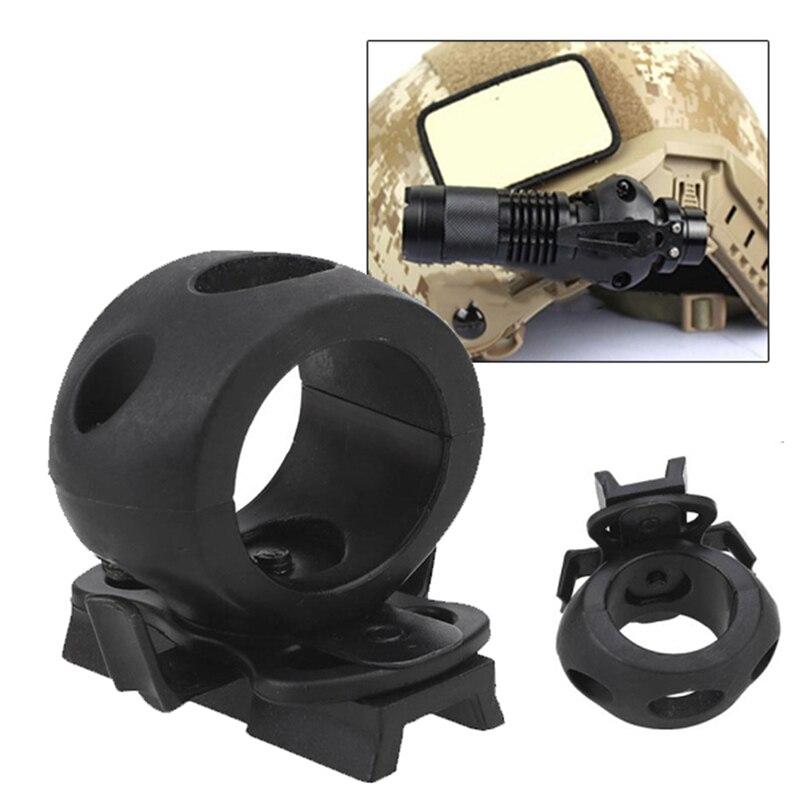 Hot Sale 30mm Helmet Special Lighting Flashlight Support Tactical Helmet Clamp Adaptor Outdoor Sports Cycling Headlight Holder