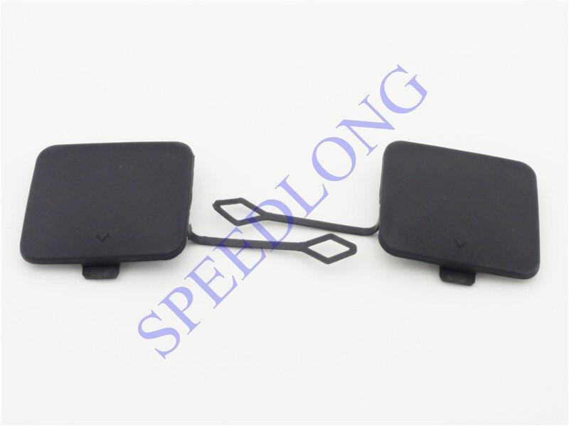 2 Pcs/paire pare-chocs arrière de remorquage crochet de remorquage oeil cache pour BMW X3 F25 2011-2014