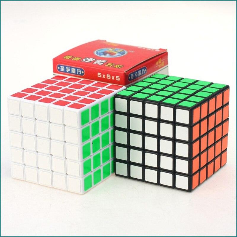 ÚJ 5X5X5 Professzionális sebesség Rubiks Cube Magic Cube Oktató - Puzzle játékszerek