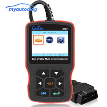 Автомобильный диагностический инструмент Создатель C502 OBD2 Автомобильный сканер для Mercedes Benz W211 W203 W124 OBD2 авто двигатель считыватель кода неисправностей