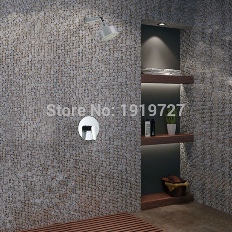 Wall Mounted Concealed Shower Mixer In Wall Shower Mixer Bathroom ...