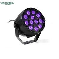 Auto Sound Active DMX512 Master Slave UV LED Stage Light LED Par DJ Equipments Ultraviolet Led