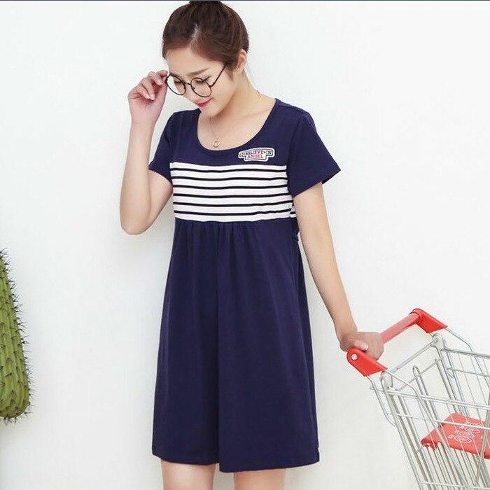 Beautiful  Pregnant Women Dress Code The Pregnant Women T Shirts Yellow XL Blue