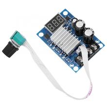 цена на 20A Digital LED Motor Speed Controller PWM Stepless Speed Regulator Module DC 12-60V Motor