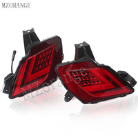 MZORANGE 2PCS For Mazda CX 5 CX5 2013 2016 Multi Function Car LED Rear Bumper Light