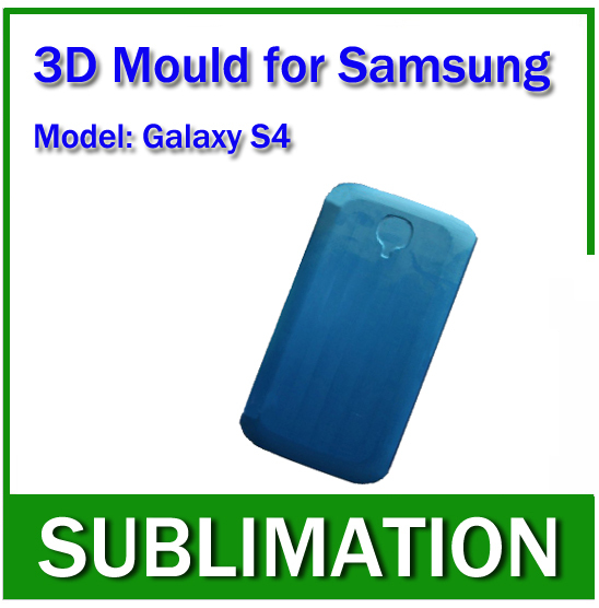 Solid Aluminium Alloy 3D Sublimation Phone case Mould for samsung galaxy S4  цены