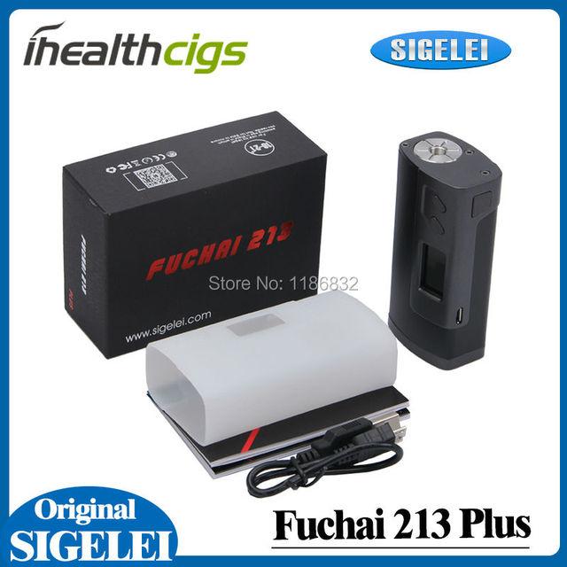 100% Original Sigelei Fuchai 213 Plus TC Box Mod Vape 213W 1V-7.5V Support Ni/Ti/SS/TCR/TFR Mode