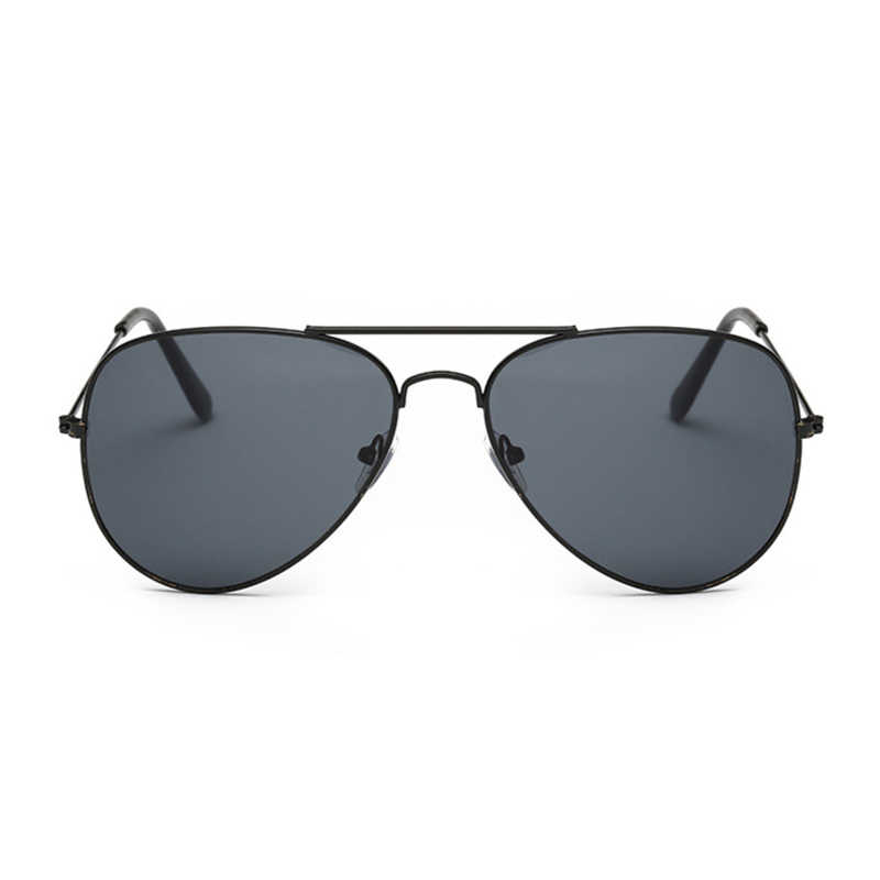Aviation Sunglasses Women Brand Designer Mirror Retro Sun Glasses For Women Pilot Vintage Sunglasses Female Black