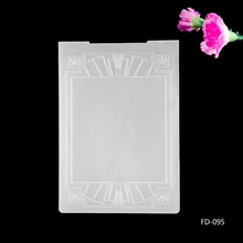 2017 New Arrival Scrapbook Abstract Frame Design DIY Paper Cutting Dies Scrapbooking Plastic Embossing Folder