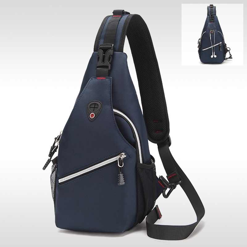 Men s chest bag Outdoor Shoulder Leisure Messenger Bag Tourism Fitness  multi-functional ultra-light f9084a930ffa