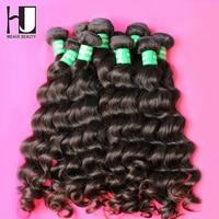 Brazilian Virgin Hair 6A Unprocessed Human Hair Weave Bundles Virgin Brazilian Hair Natural Wave 3Bundles HJ Weave Beauty
