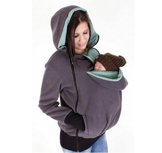 2016 Nueva Promoción Porta Bebé Canguro Chaqueta Invierno Ropa de Abrigo Para Las Mujeres Embarazadas de Maternidad Embarazo Engrosada Vistiendo