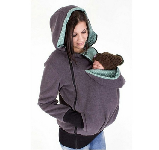 maternity pregnancy clothes Baby Carrier Jacket Kangaroo Winter Outerwear Coat Women Thickened Pregnancy Wearing