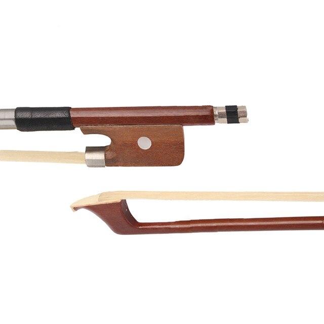 Brazilwood violoncelo Arco Bem Equilibrado 4/4 Violoncelo Arco de Crina Rodada Vara 4/4 Acessórios Violoncelo