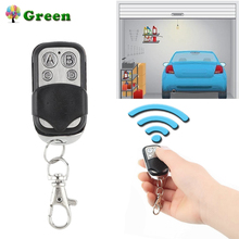 433 MHz RF Remote Control Copy 4 Channel Cloning Duplicator Key Fob A Distance Learning Electric Garage Door Controller 433mhz universal wireless 4 key copy cloning remote control duplicator key fob learning garage door copy controller high quality