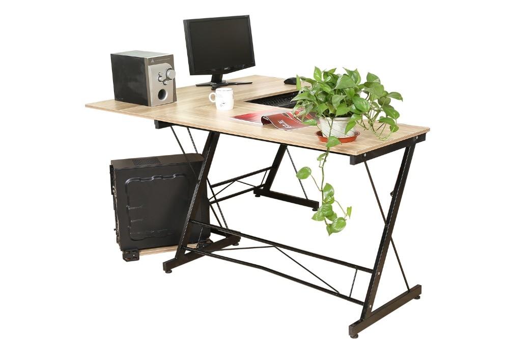 L Shaped Corner Desk Computer Workstation Home Office: HLC Computer Desk L Shape Corner Home Office Office Sturdy