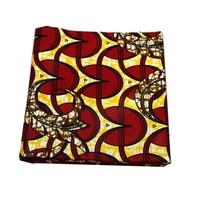 African wax prints super wax hollandais style block prints 100% cotton fabric ankara printed fabric veritable wax material blue
