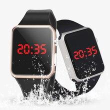 Waterproof Men Casual Sport Watches Men's LED Digital