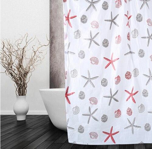 Impermeabile Tenda Della Doccia, Come Mostrato Eco-Friendly PEVA Moldproof Imper
