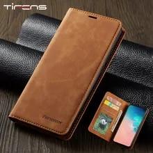 Leather Flip A51 A71 A21S Case For Samsung S21 S20 FE S10 S9 S8 Plus Ultra A52 A72 A02S