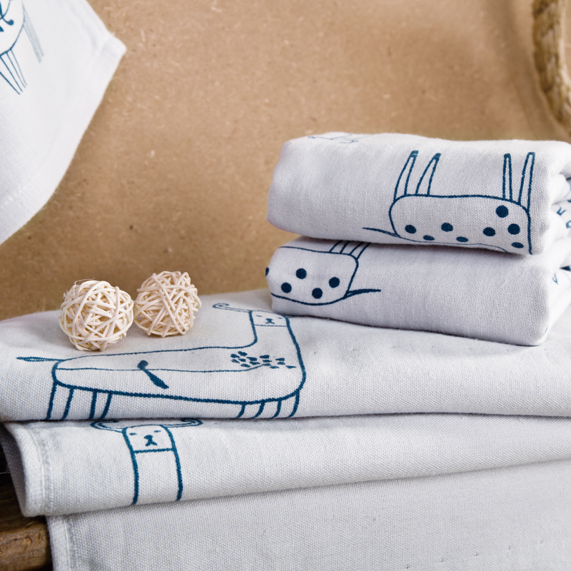 Cute personalized patterned 3 pcs travel beach bath towel for Cute bathroom sets