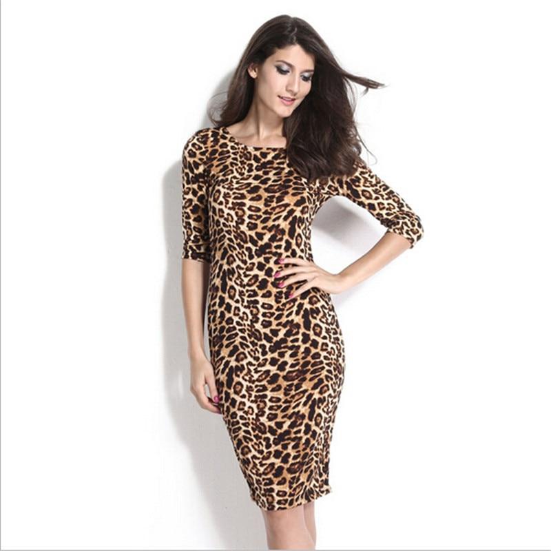 Popular Leopard Print Formal Dress-Buy Cheap Leopard Print ...