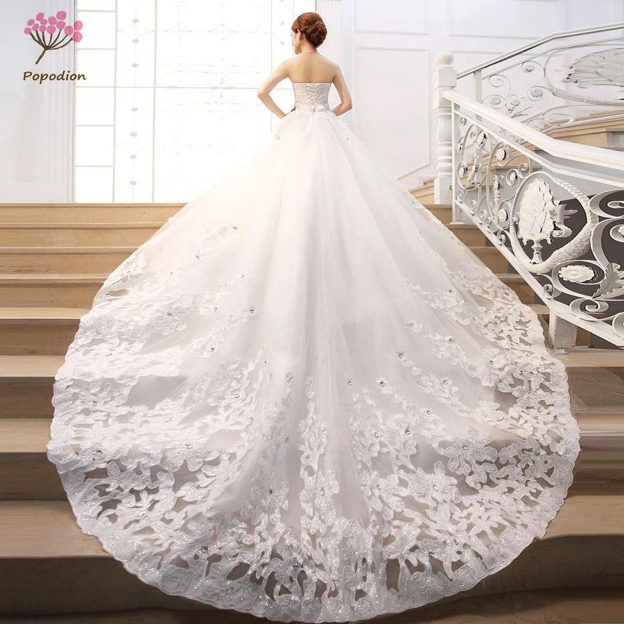 Rhinestones Satin Wedding Dresses Train Wedding Gowns Retro Wedding Dresses Vestido De Noiva De Luxo 2017 Wed90348 Dress Dora Dress Owldress Thong Aliexpress