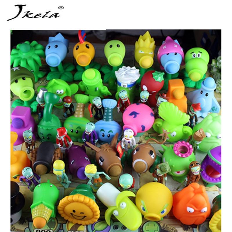 [Jkela] Plants vs Zombies PVC Action Figures Toy, PVZ Plant + Zombies Figures Toys For Children Packaging In Opp Bag
