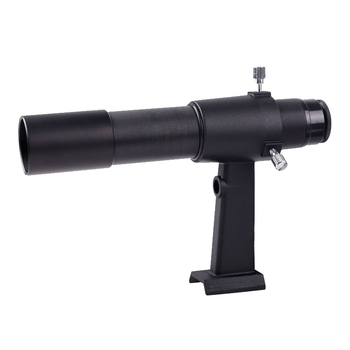Fast shipping 6x30 Finder Scope with Crosshair Viewfinder for Astronomical Telescope FinderScope Metal  6x magnification