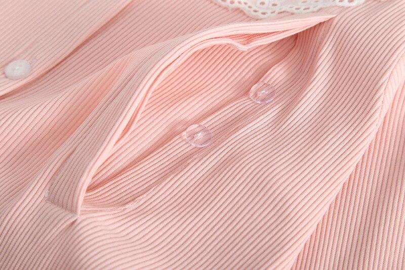 pijama de algodao pijamas de maternidade para 04