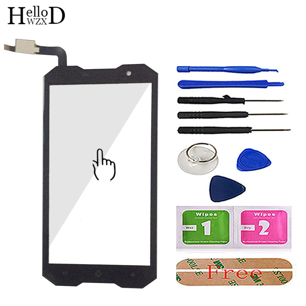 HelloWZXD 5.0'' Mobile Phone Touch Glass TouchScreen For Homtom Zoji Z8 Front Touch Screen Glass Digitizer Panel Lens Sensor