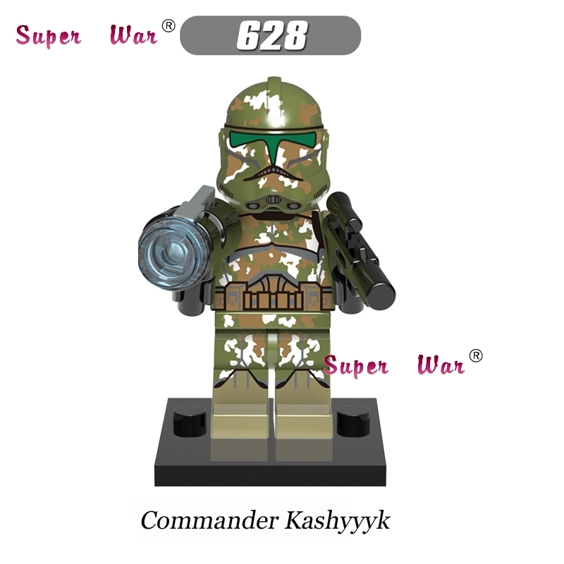 20pcs star wars superhero marvel dc comics Kashyyyk Clone Trooper building blocks bricks models classic education MCU baby toys