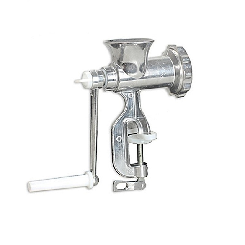 Aluminum Alloy Manual Meat Grinder Mincer Table Hand Crank