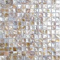 Оболочка природа мозаики перламутр натуральный красочные кухня щитка стен Ванная комната этаж дома блеск обои, lsbk2002