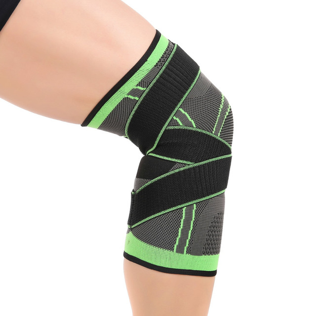 Elastic Nylon Sport Compression Knee Pads Sleeve