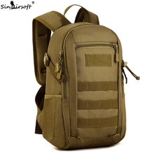 SINAIRSOFT Military Tactics Backpack Nylon Molle Rucksack Bag 12L Camouflage Travel for Outdoor Sport hunting waterproof LY0091
