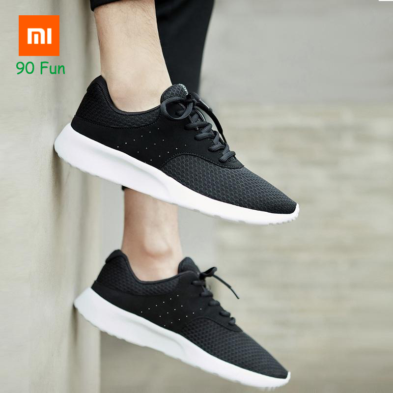 Xiaomi 90Fun Casual Men Shoes Plus Size 39-44 Soft Lightweight Breathable Hiking Men's Outdoor Sports Sneakers Smart Home