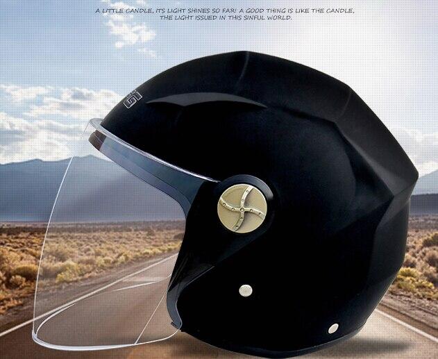 ②Casco de la motocicleta casco de bicicleta eléctrica cuatro ...